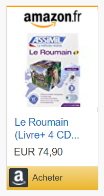 le Roumain - livre +Cd